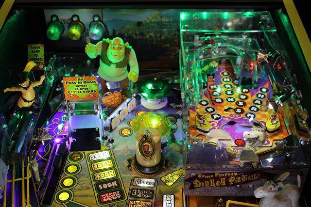 shrek pinball machine