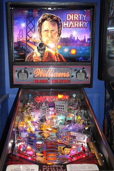 Dirty Harry Pinball Machine For Sale